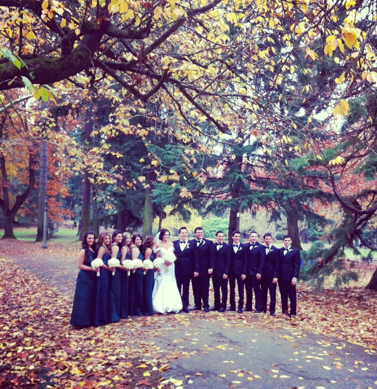 ポートランドの結婚式